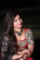 Sirisha Dasari in Red Ghagra Backless Choli ~  043.JPG