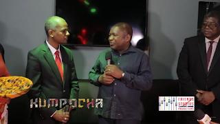 O Presidente da República Filipe Nyusi visita a FriendStudios