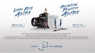 Kontes Foto Inspirasi 60 Tahun Astra Berhadiah 2 Honda CB150R