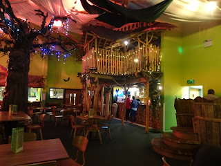 jungle theme bar indoor play area