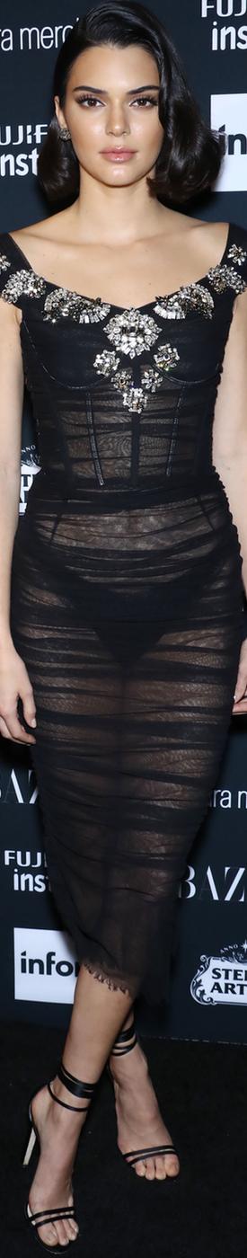 Kendall Jenner Harper's Bazaar ICONS 2018