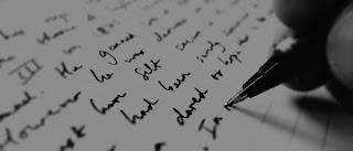 Lelaki sepi menulis
