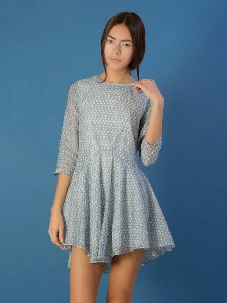 mirrored sky dress
