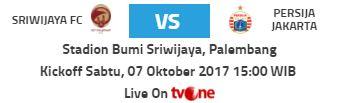 Sriwijaya FC vs Persija Jakarta