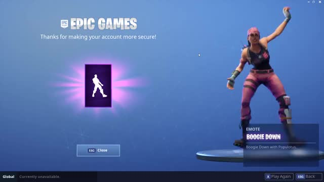 epic games boogie down emote