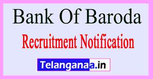 Bank Of Baroda BOB Recruitment Notification