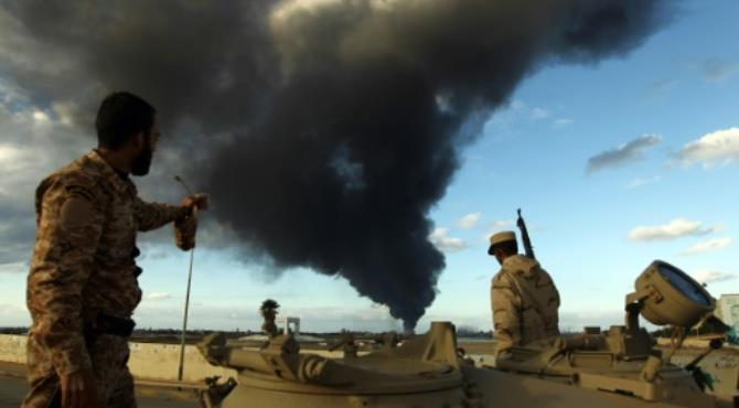 Western governments have voiced serious concern that Libya's deepening divisions can only play into the hands of the jihadists. By Abdullah Doma (AFP/File).Tripoli (AFP) - The head of Libya's UN-backed unity government called for urgent talks Wednesday after forces loyal to a rival administration seized the main eastern oil ports in defiance of world powers.