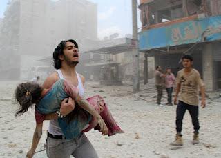 لازالت الأزمة السورية قائمة وقصف جديد على مدينة حلب وخسائر كبيرة في الأرواح