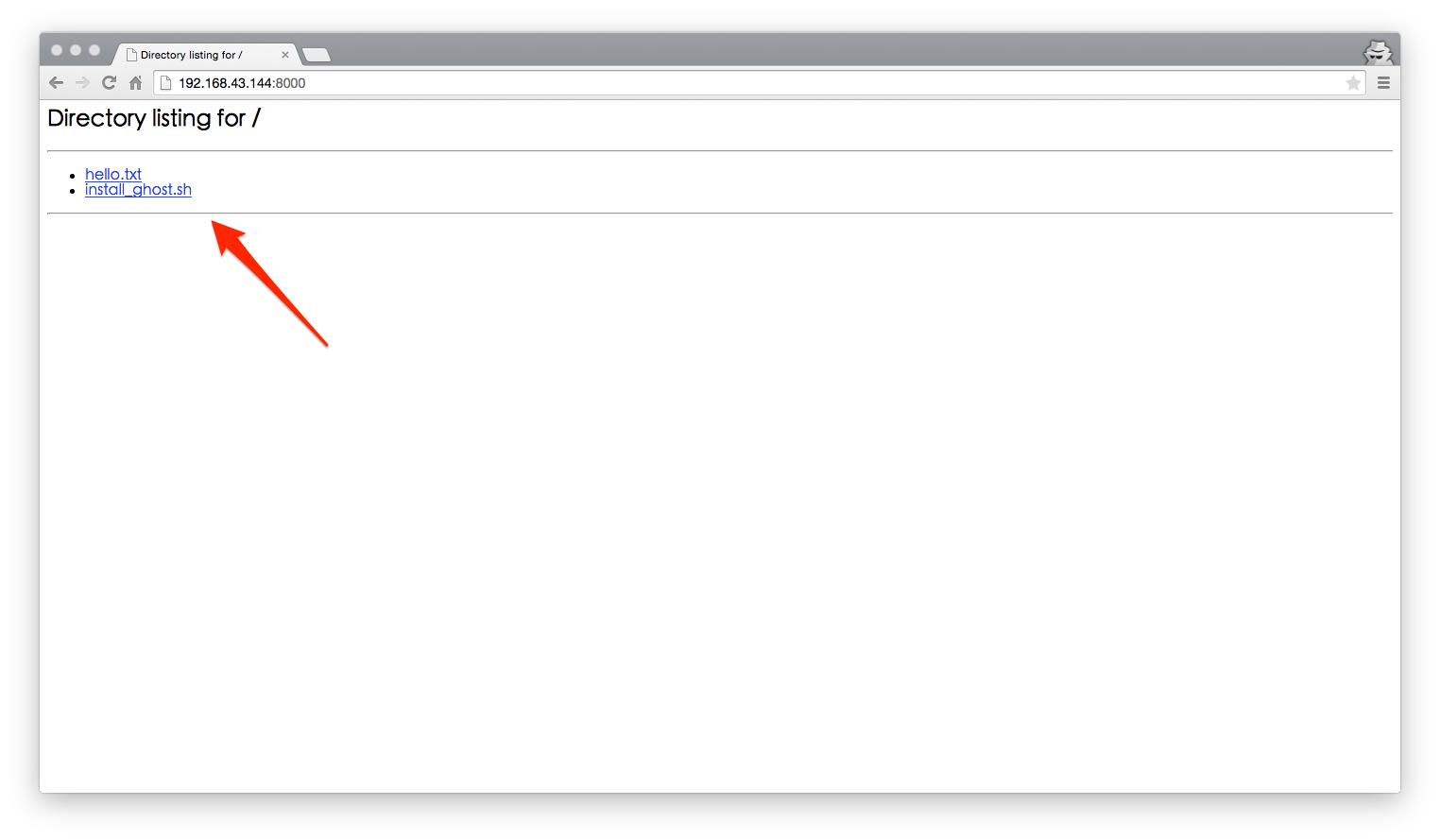 Ubuntu 免安裝快速用 HTTP 分享檔案和資訊