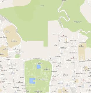 Cheong Wa Dae no existe en el mapa de Google