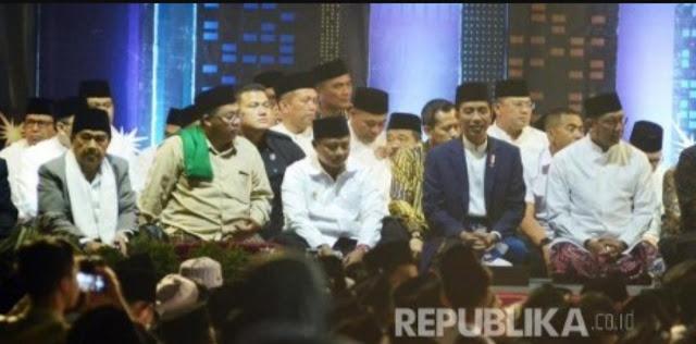 Pesan Presiden Jokowi Kepada Para Santri: Jangan Mudah Percaya Hoaks