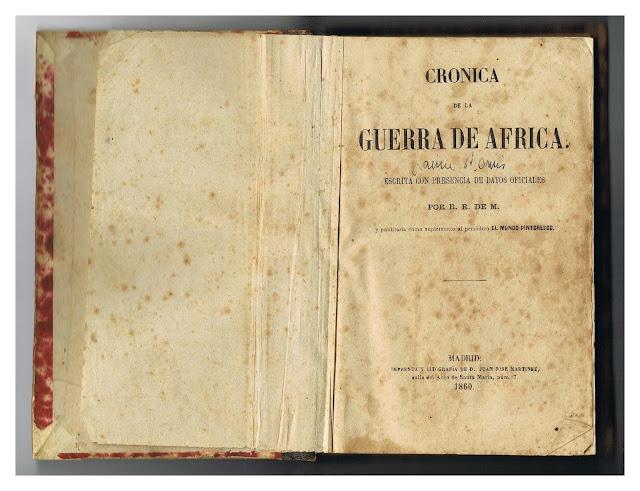 Crónica de la Guerra de Africa 1860