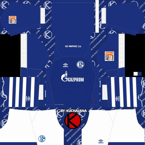 Schalke 04 2018 19 Kit - Dream League Soccer Kits - Kuchalana 4f46be2c6
