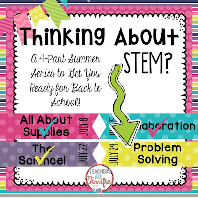 STEM Summer Series: This week's post is all about Problem Solving! The most amazing part of STEM class is watching kids solve problems in delightful ways!