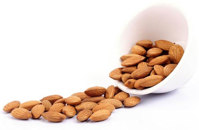 manfaat almond untuk kecantikan