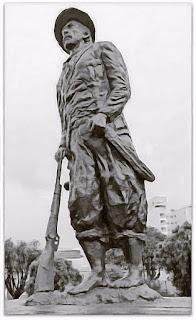 Monumento do Gaúcho na Praça de Palmeira das Missões