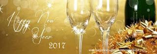 Champagne Happy New Year 2017