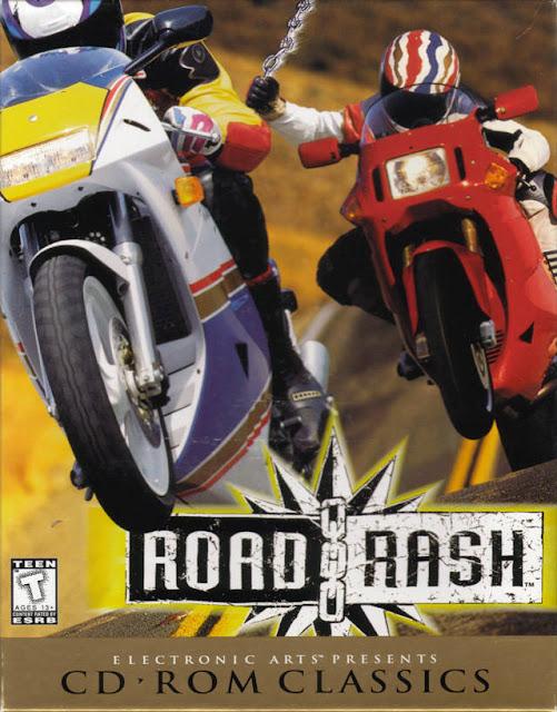 لعبة سباق الموتسكلات Road Rash برايط واحد على Mediafire