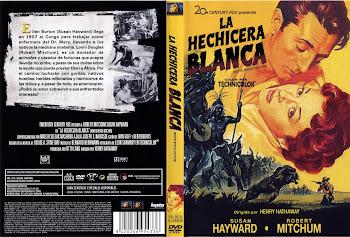 Carátula dvd: La hechicera blanca (1953) (White Witch Doctor)