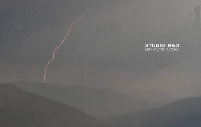 Η φωτογραφία της ημέρας: Ισχυρή καταιγίδα στα ορεινά της Αρκαδίας