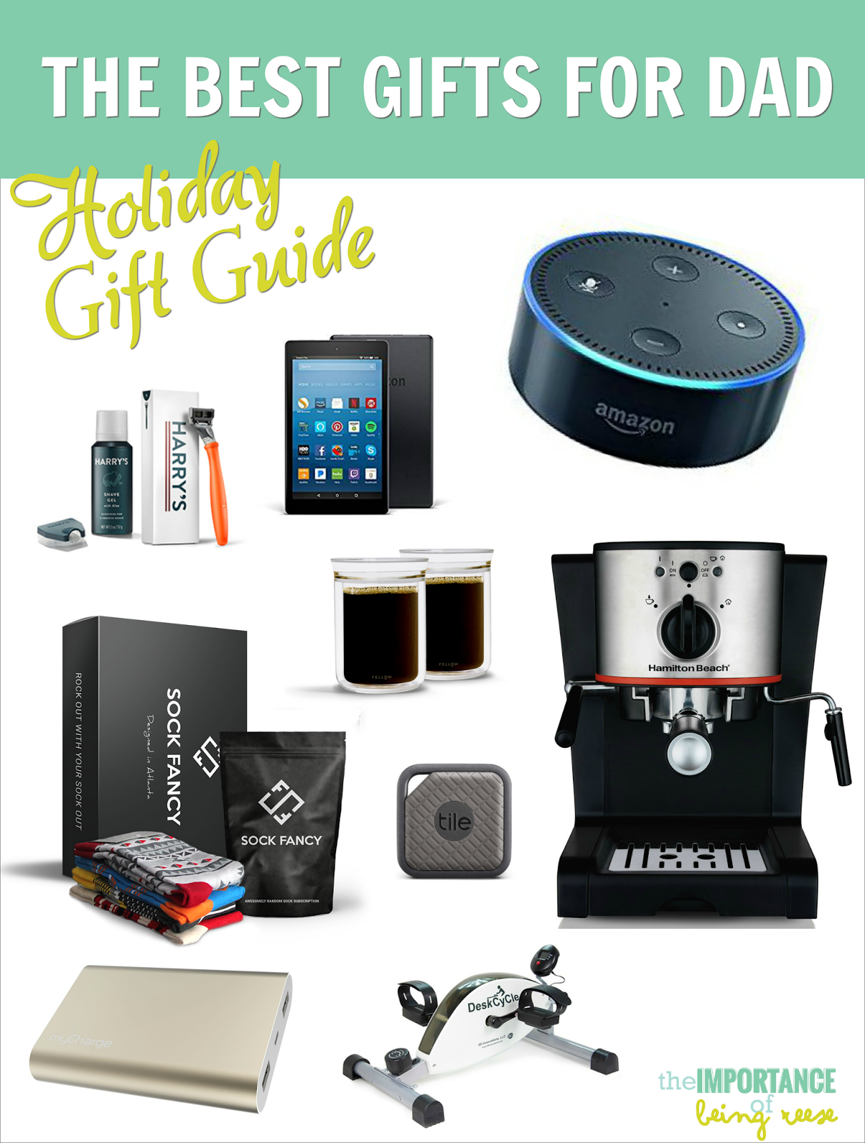 Here are some of the hottest Holiday gift ideas for the Dads this season!