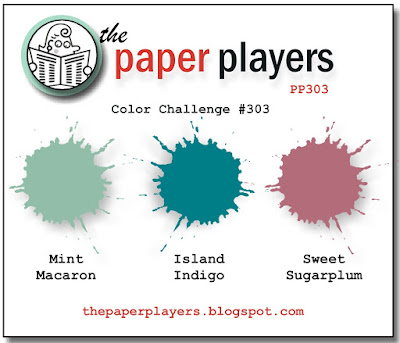 Stampin' Up! Color Inspiration: Mint Macaron, Island Indigo, Sweet Sugarplum