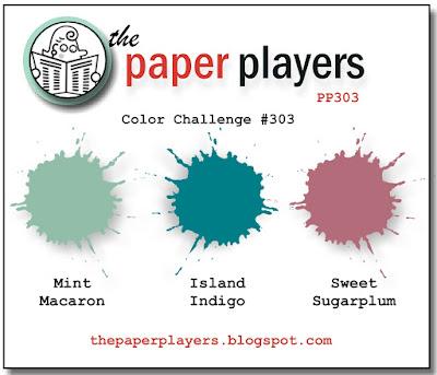 Stampin' Up! Color Inspiration: Mint Macaron, Island Indigo, Sweet Sugarplum