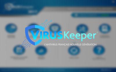 VirusKeeper - Logiciel Antivirus sur Windows