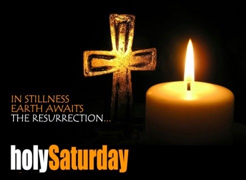 Holy saturday content messages