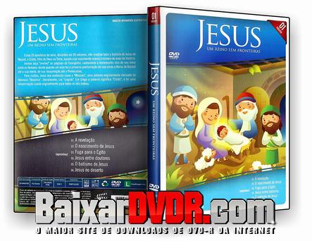 Jesus: Um Reino Sem Fronteiras Vol. 01 (2018) DVD-R