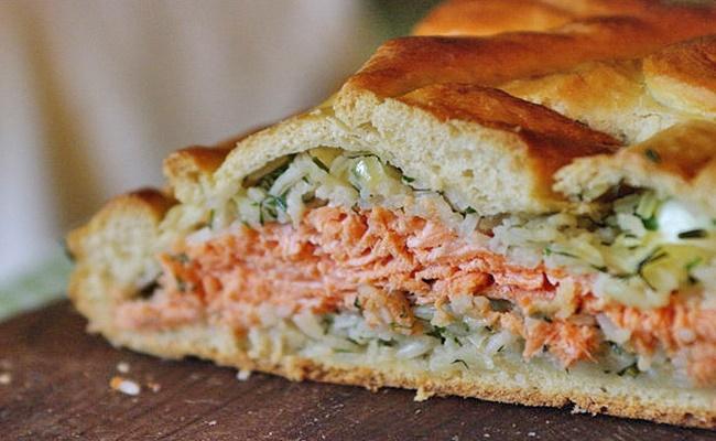 Coulibiac de salmão