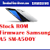 Stock ROM Firmware Samsung A5 SM-A500Y