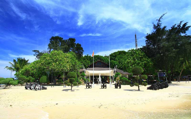 Pulau Bidadari Menjadi Bagian Dari Kepulauan Seribu
