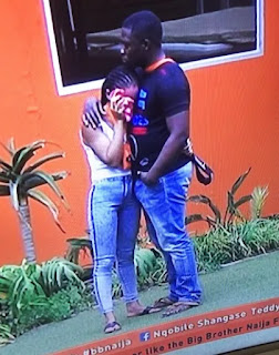 Entertainment: BBNaija! Bitto gets embarrassing erection for Nina [VIDEO]