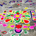 Happy Holi 2016 Latest and Best Rangoli Designs made of Colors, Flowers
