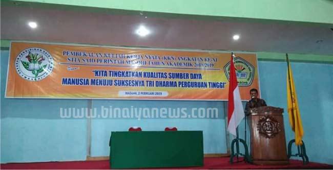 Rektor STAI Said Perintah Bekali Mahasiswa KKN Angkatan XI