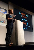 Dave Cornthwaite at Adventure Travel Show 2013
