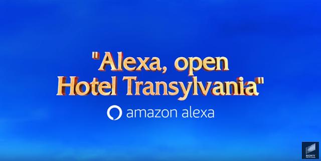 hotel transylvania, amazon alexa