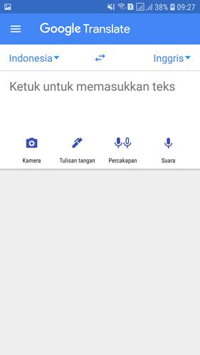 cara menggunakan google translate offline di ponsel