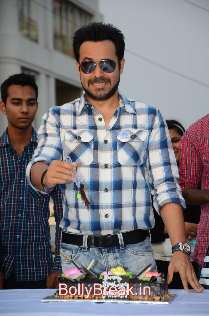 Emraan Hashmi celebrates his 36th birthday with the media and his fans