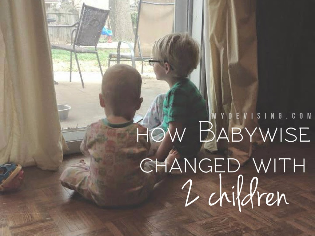 How Babywise Changed with Two Children