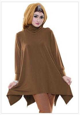 Model Baju Muslim Bahan Kain Jersey Korea Untuk Remaja