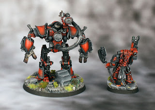 Forge World converted Praevian and Castellax  - Horus Heresy (30K) Blood Angels