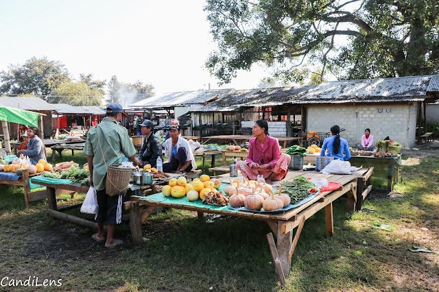 Demawso market Loikaw