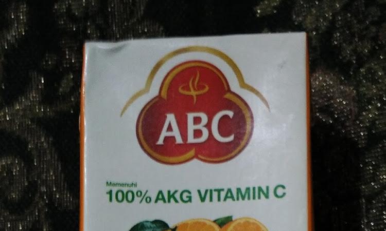 ABC Rasa Jeruk Segarnya Rasa Jeruk Dalam Kotak
