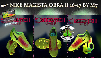 PES 2013 Nike Magista obra II 16-17 Boots by M7