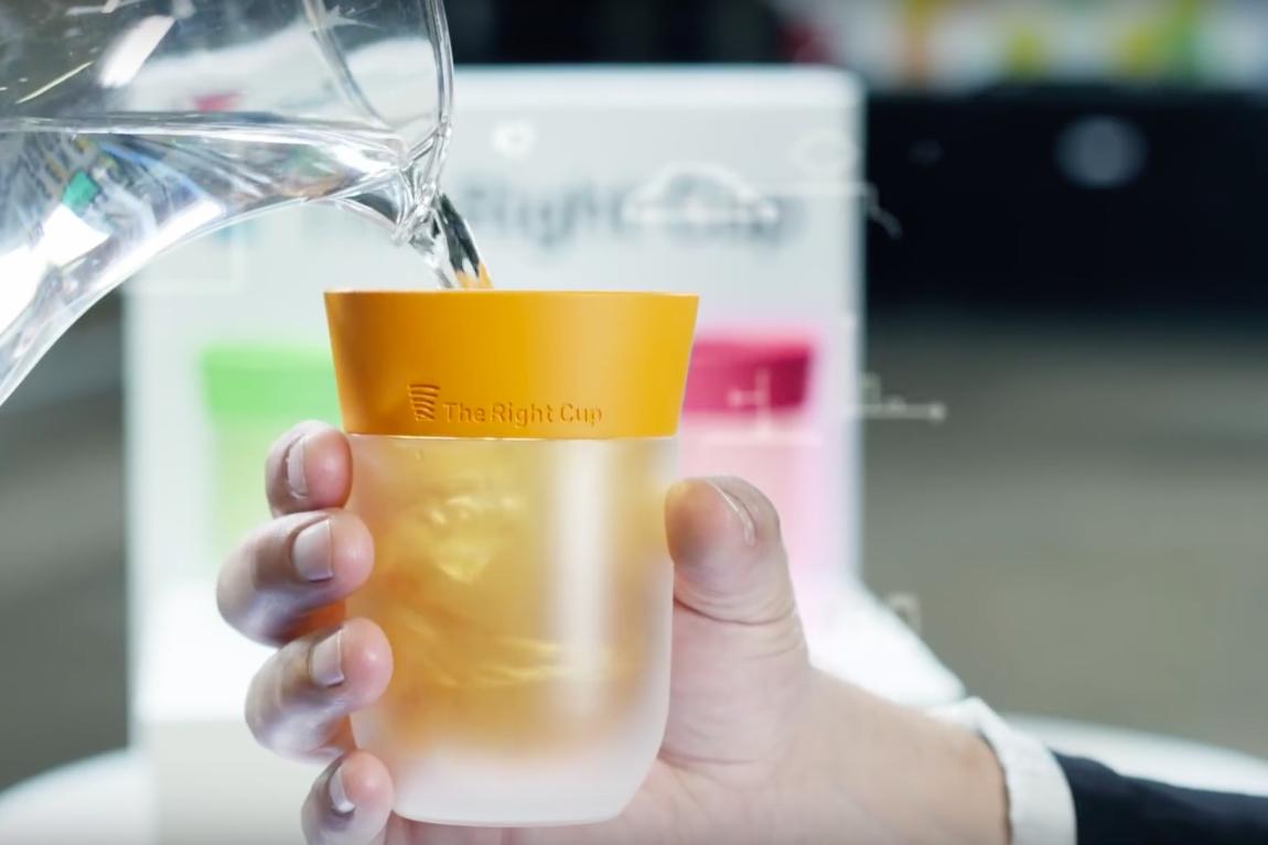 把白開水變果汁?神奇「塑膠杯」募資爆千萬臺幣