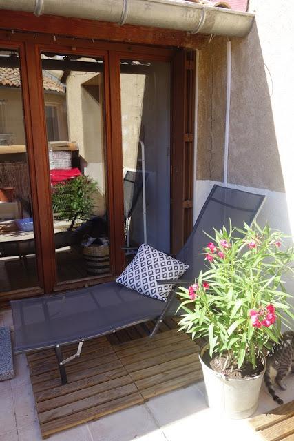 DECO : Ma terrasse, coté détente. / www.by-laura.fr