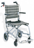 Lightweight Folding Transit Wheelchair