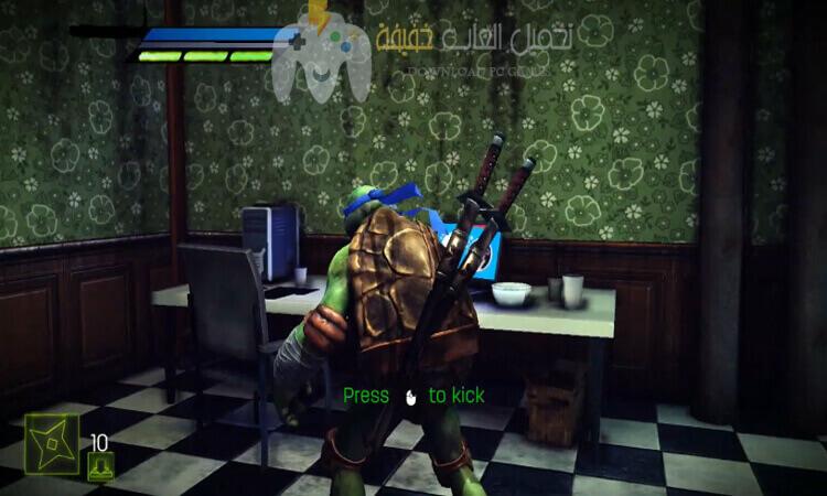 تحميل لعبة TMNT Out of The Shadows للكمبيوتر برابط مباشر